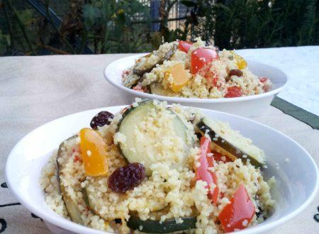 Cous cous al curry e verdure