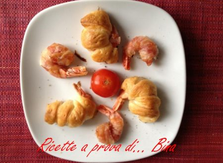 Code di gambero finger food