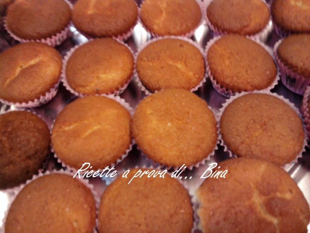 Mini muffin mandorle e arancia