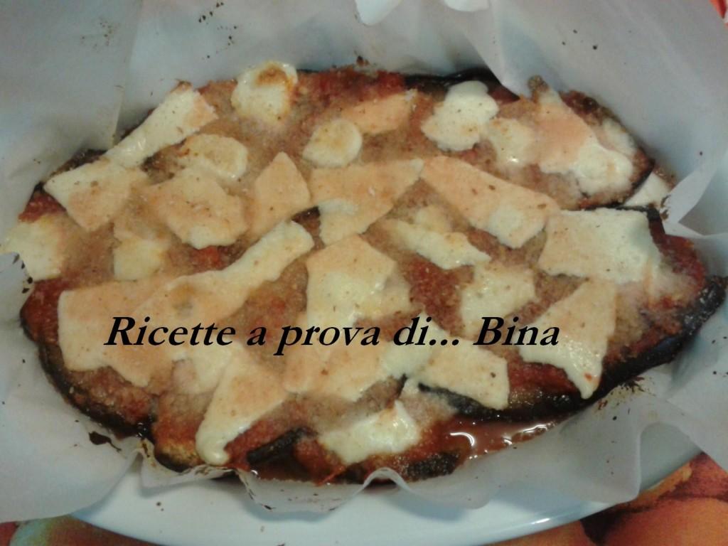 parmigiana di melanzane light , ricetta gustosa e semplice