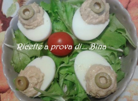 Uova sode ripiene – ricetta veloce