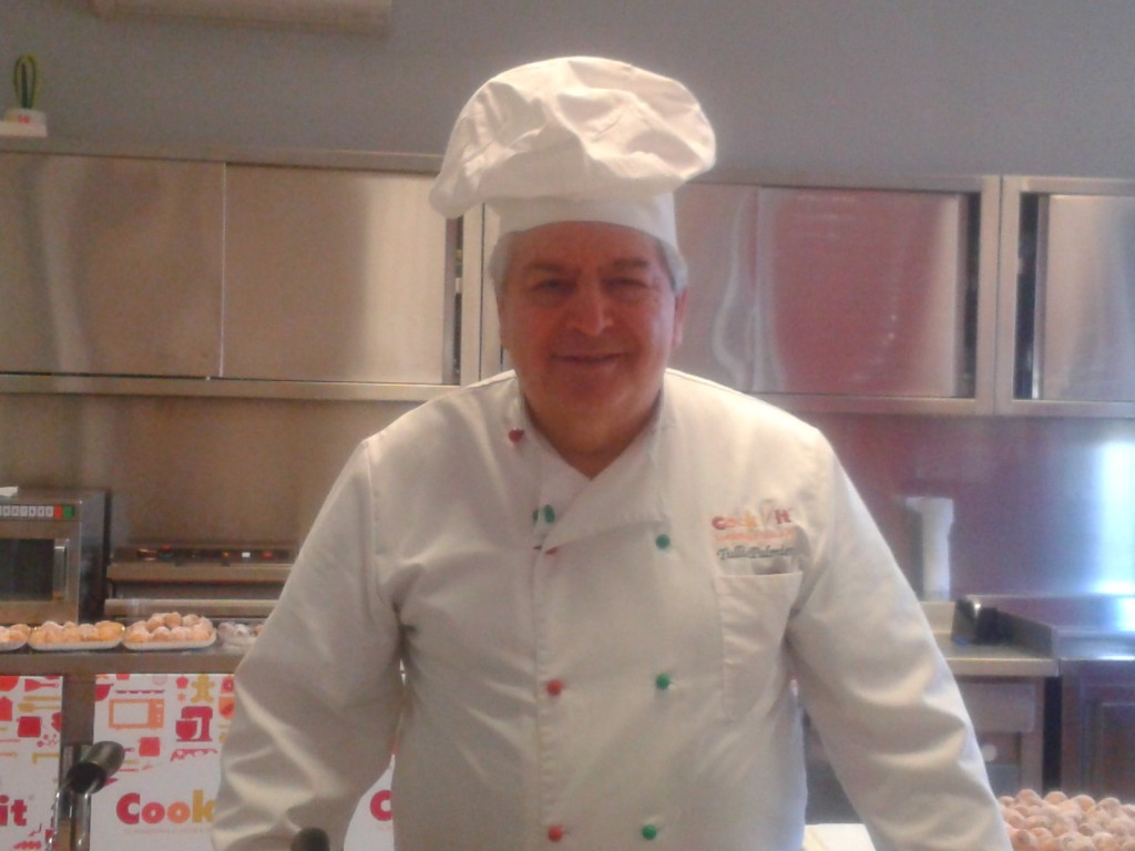 Tullio Palmieri, un vero esperto di panetteria e pasticceria, avra' la risposta giusta ad ogni vostra domanda