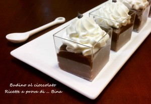 Budino al cioccolato fatto in casa - ricetta semplice