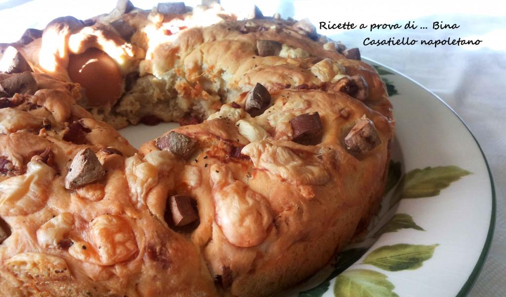 Casatiello napoletano - ricetta ciambella salata di Pasqua