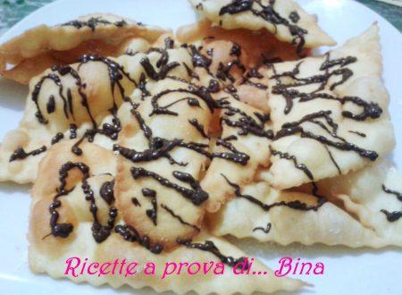 Chiacchere di carnevale al cioccolato – ricetta passo a passo