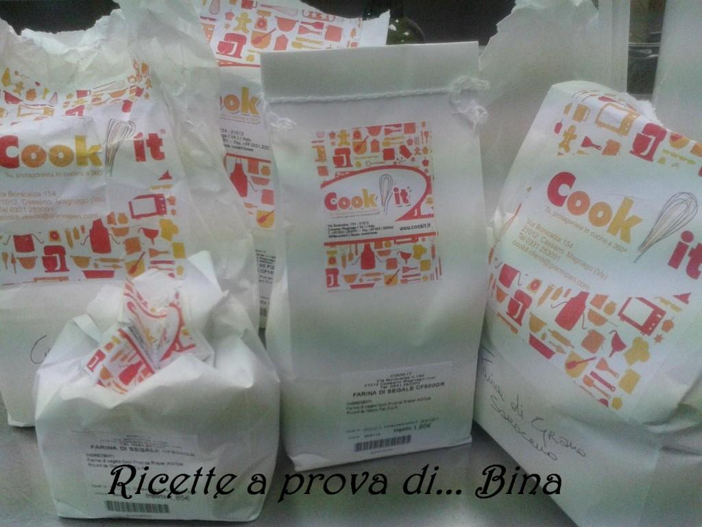 farine professionali, selezionate e in vendita da cook it