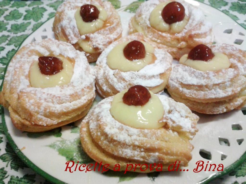 Zeppole di San Giuseppe - ricetta per la festa del papa' - Ricette a ...