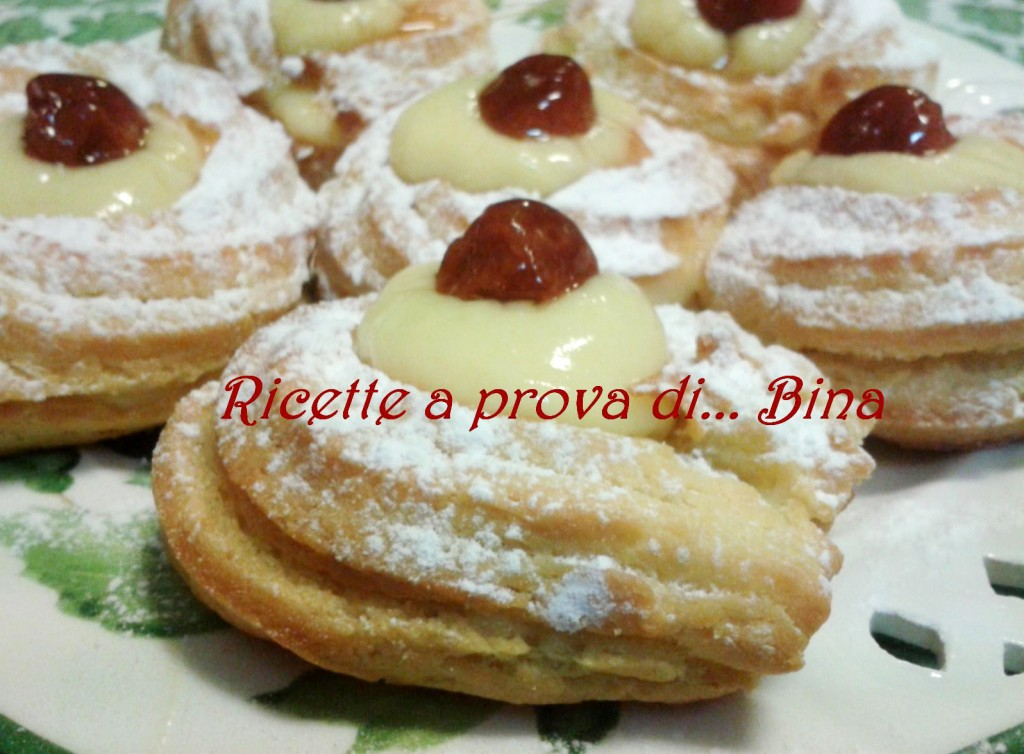 Zeppole di San Giuseppe - ricetta golosa