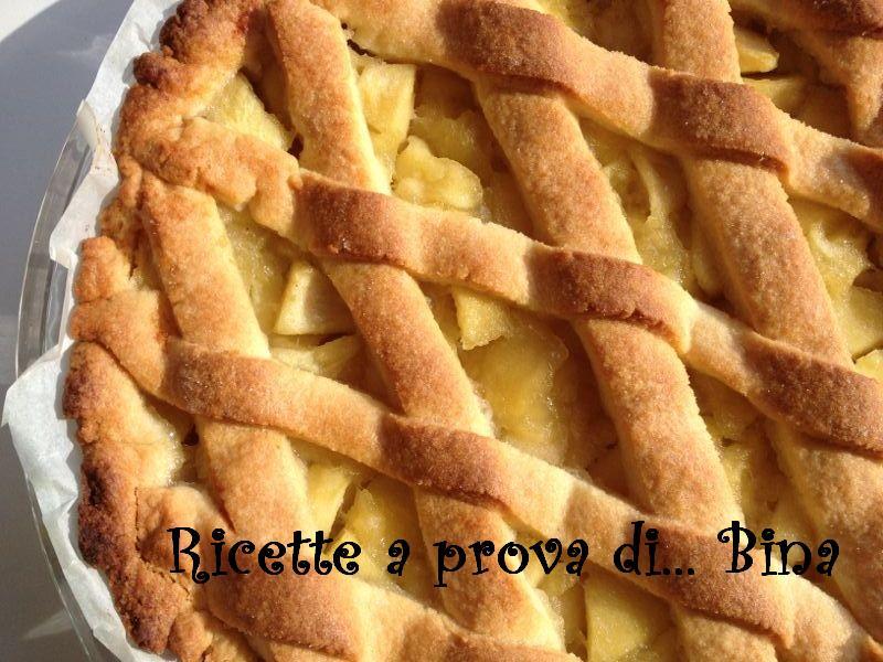 crostata di mele - ricetta semplice e veloce