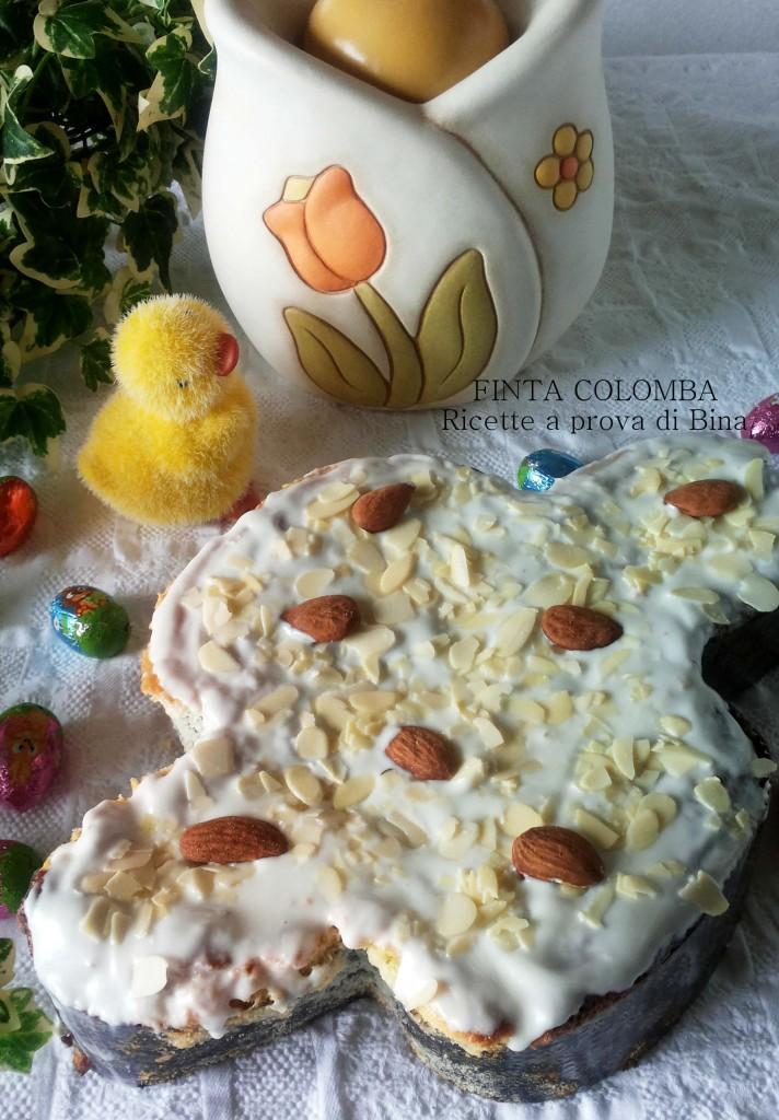 FINTA COLOMBA senza farina - Ricette a prova di Bina