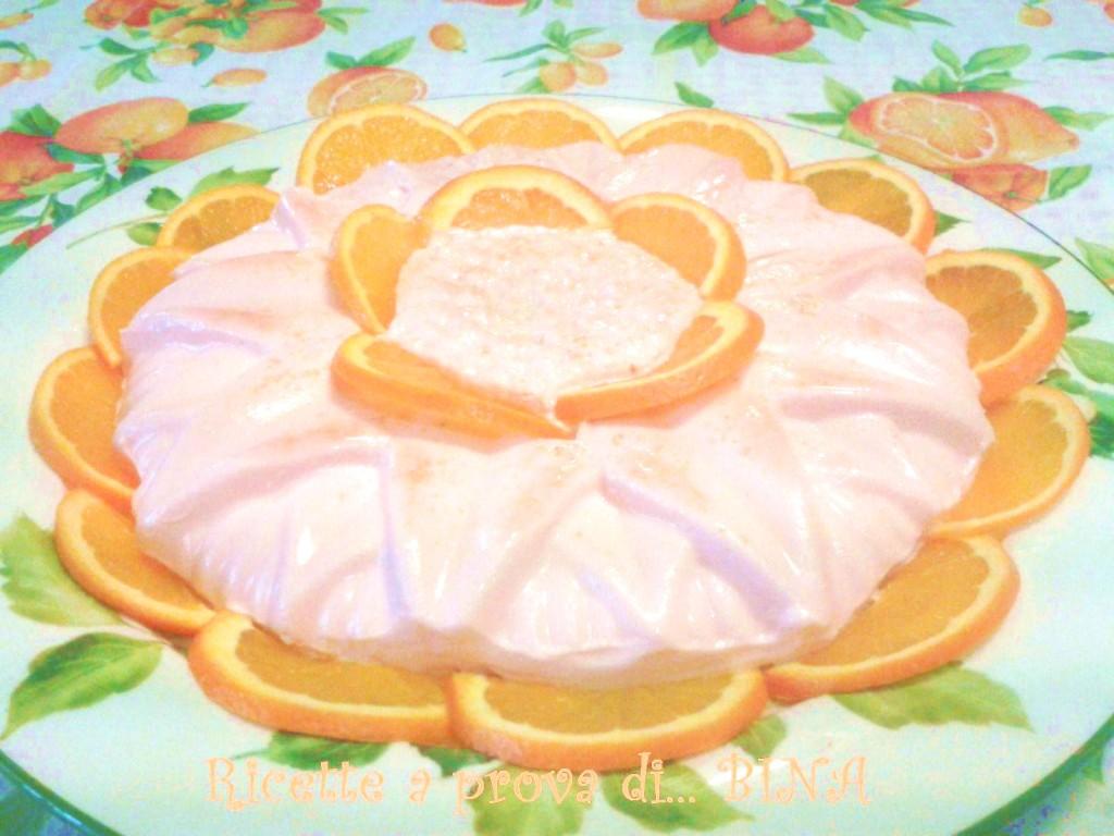 Panna cotta all' arancia - ricetta fresca e veloce