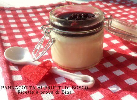 Panna cotta ai frutti di bosco – ricetta semplice