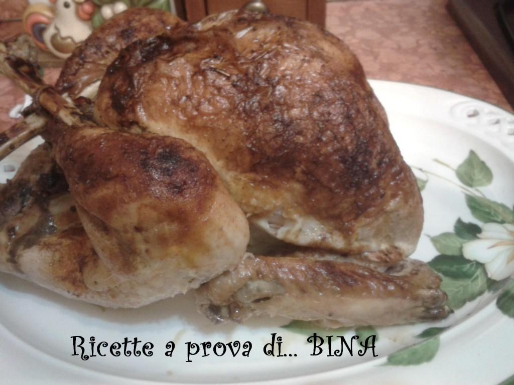 Tacchino  ripieno - ricetta italianizzata