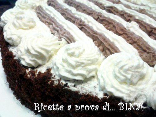Torta panna e cioccolato – ricetta dolce