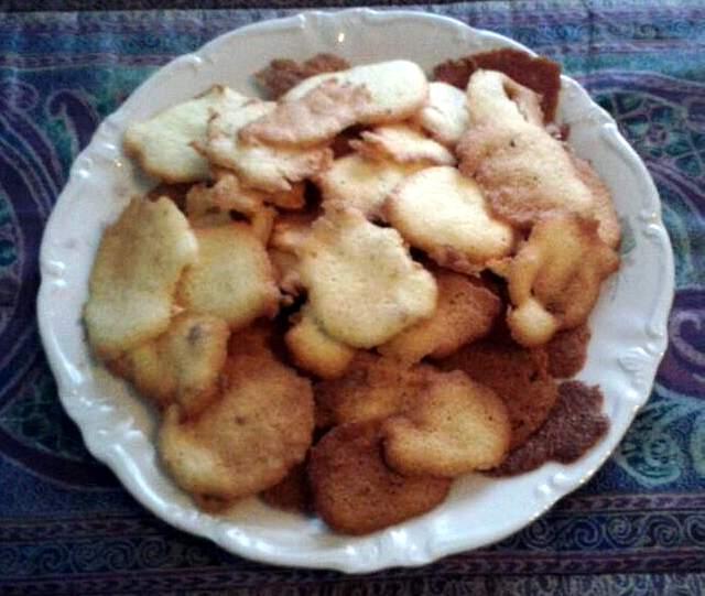 Sgorbietti al cocco - ricetta di Alessia Bossi