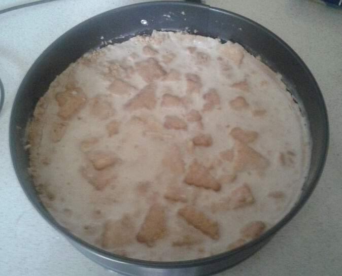 Cheesecake ai biscotti - ricetta di Alessia Bossi