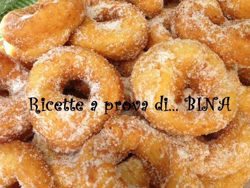 Ciambelle fritte dolci - ricetta golosa