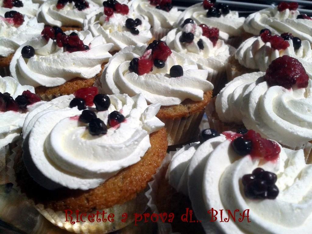 Cupcakes ai frutti di bosco
