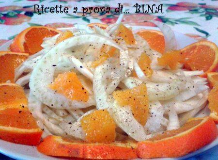 Insalata di finocchi e arance – ricetta light