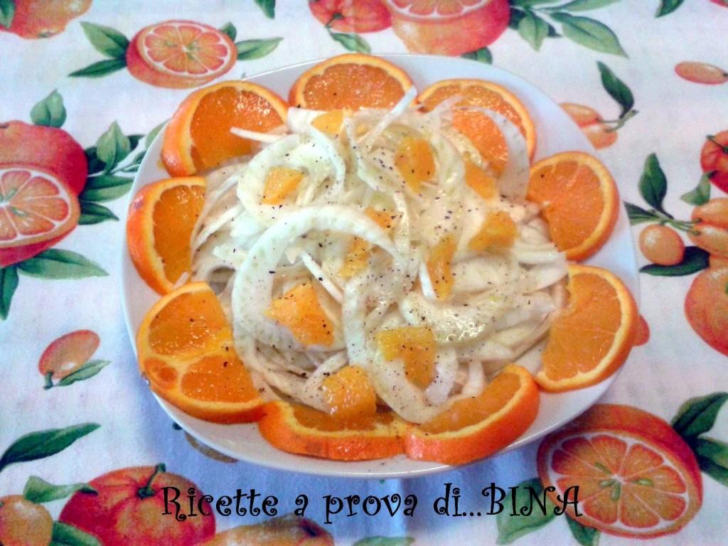 Insalata di finocchi e arance - ricetta light