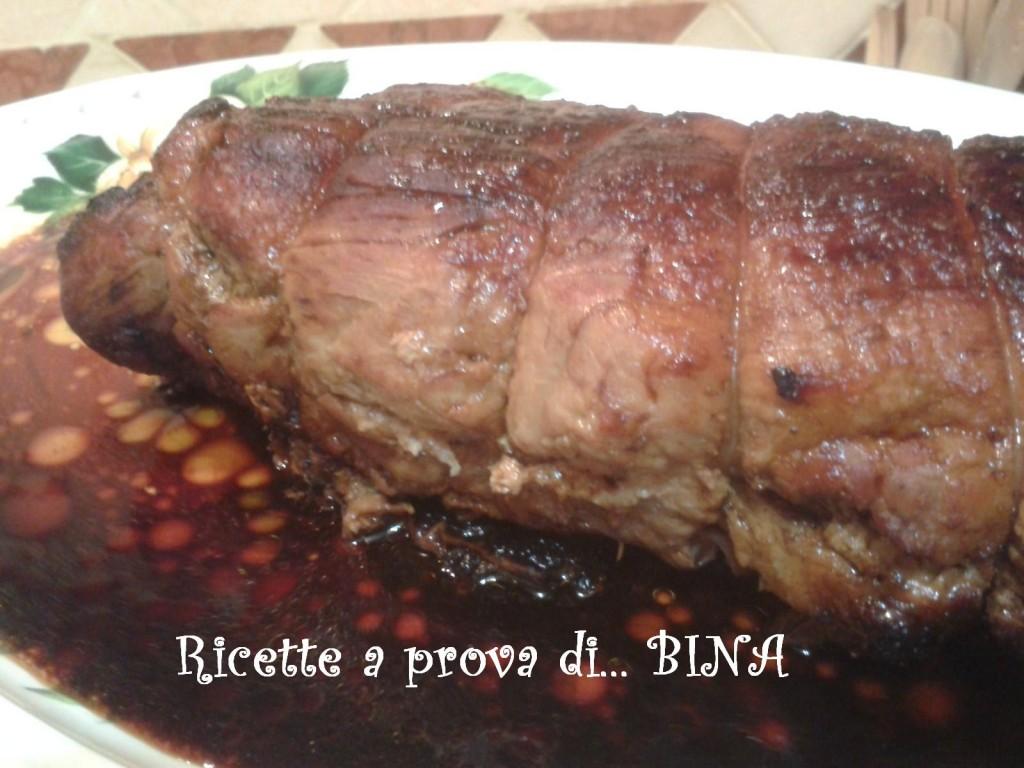 Lonza di maiale ripiena - ricetta di Paolo