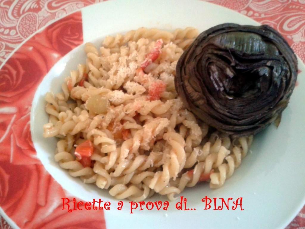 Pasta con i carciofi - ricetta primo piatto semplice
