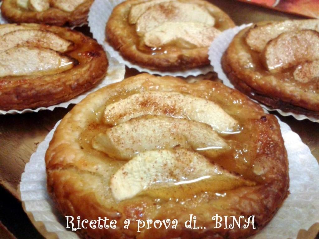sfogliatine di mele - ricetta veloce