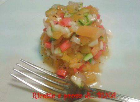 Tartare di verdure – ricetta light senza cottura