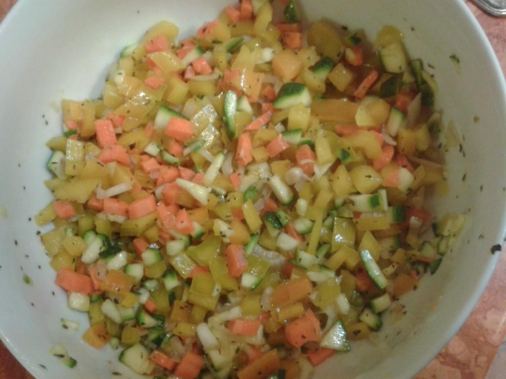 Tartare di verdure - ricetta light e veloce