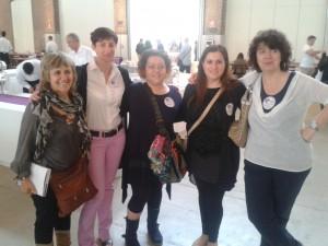 Il gruppo dele blogger GZ Lombardia: Amelia, Pierangela, Io, Pamela e Viviana
