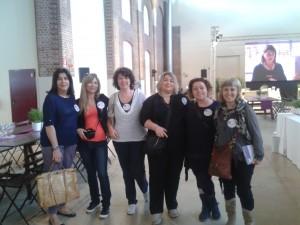 Raffaella, Valentina, Viviana, Leyla e io
