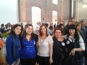 Sonia, Marialuisa, Antonella, io e Sara