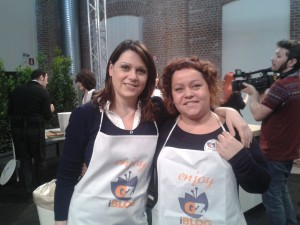 io e Sonia Peronaci al raduno Giallozafferano del 19 maggio 2013