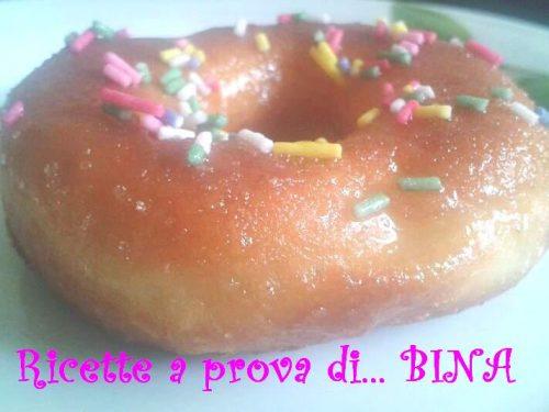 Donuts dei Simpson di Alessia – ricetta golosa