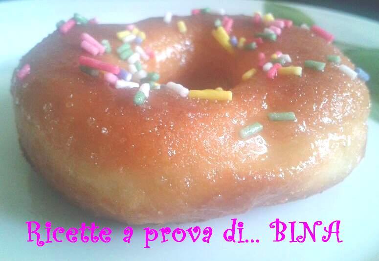 Donuts dei simpson di Alessia - ricetta golosa