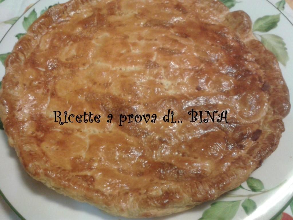 Torta salata con carciofi e tonno - ricetta semplice