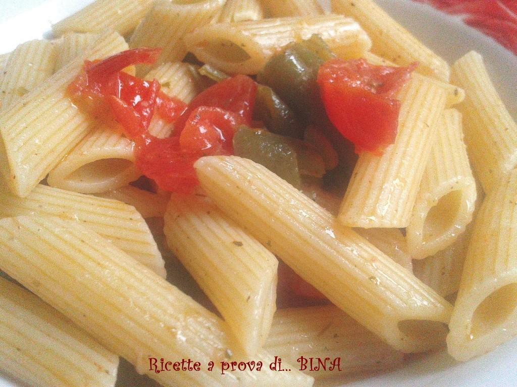 Pasta con fagiolini e pomodorini ricetta primo piatto for Primo piatto veloce