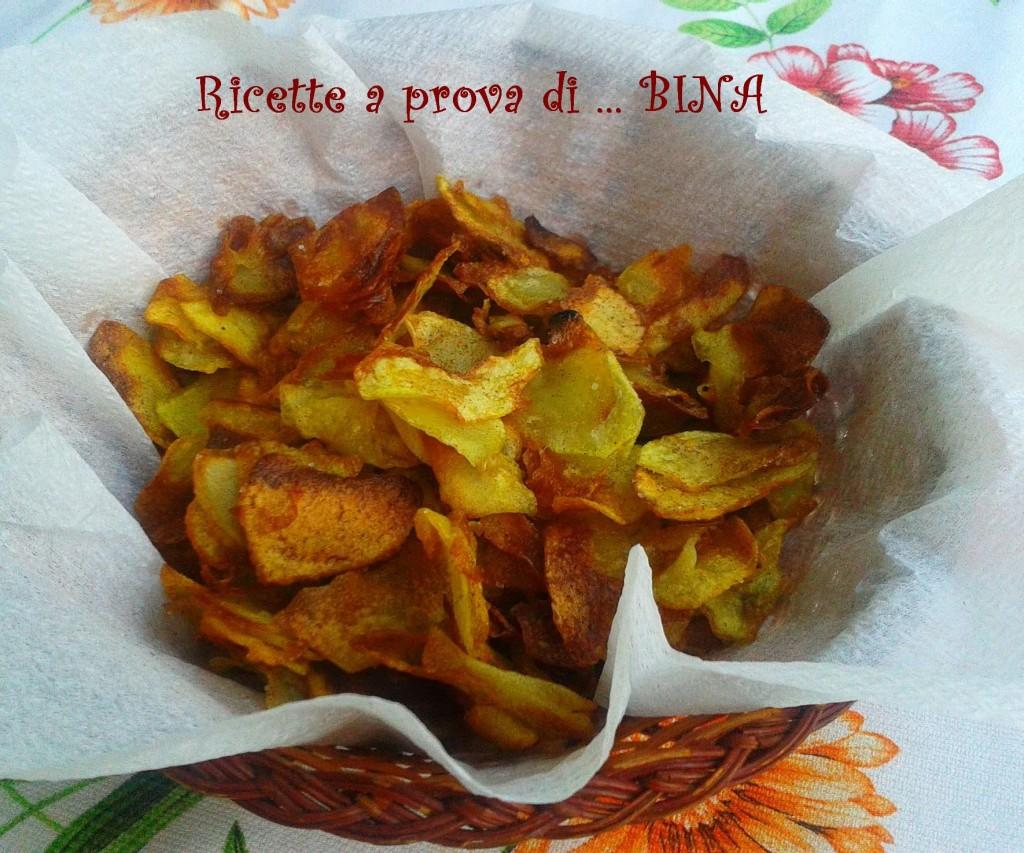 Patatine chips alla paprika - ricetta sfiziosa fatta in casa