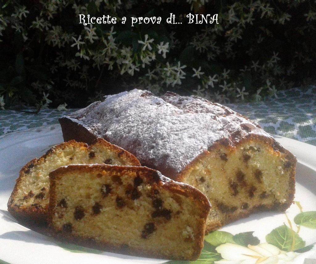 Plumcake al cioccolato e mascarpone - ricetta dolce semplice