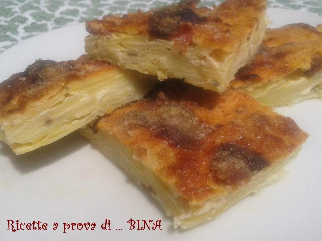 tortino di patate e pancetta - ricetta golosa