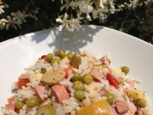 Insalata di riso con maionese – ricetta primo piatto fresco