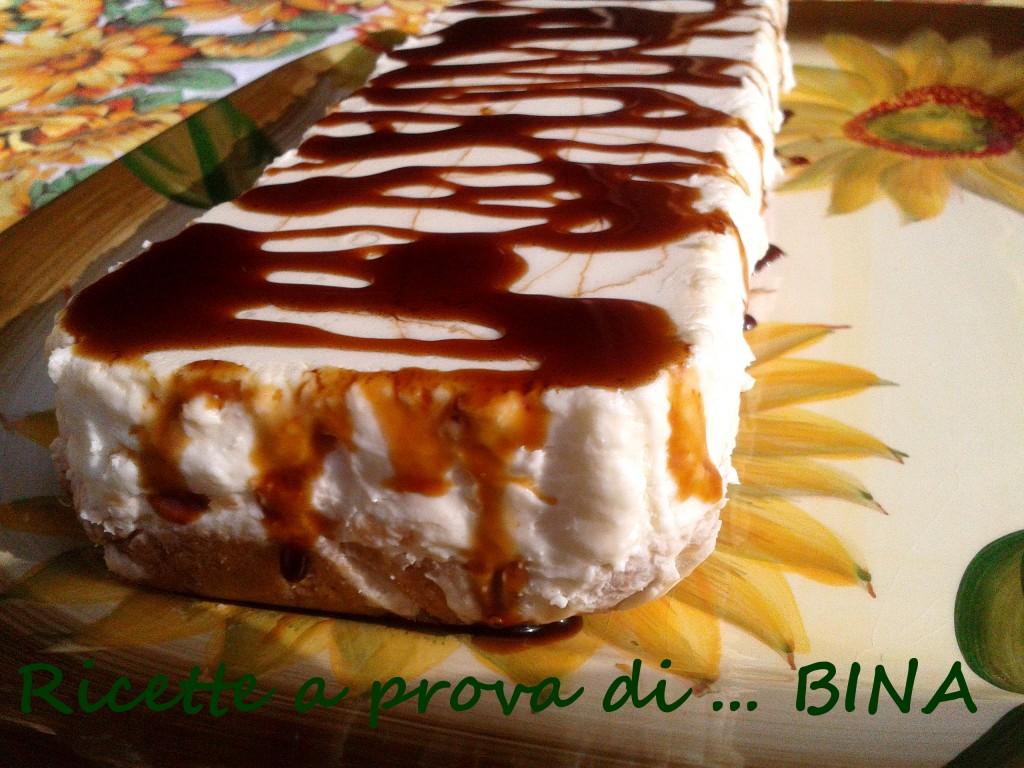 torta fredda al caramello - ricetta senza cottura - Ricette a prova di Bina
