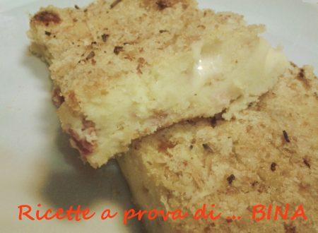 Gateau di patate, scamorza e speck – ricetta semplice
