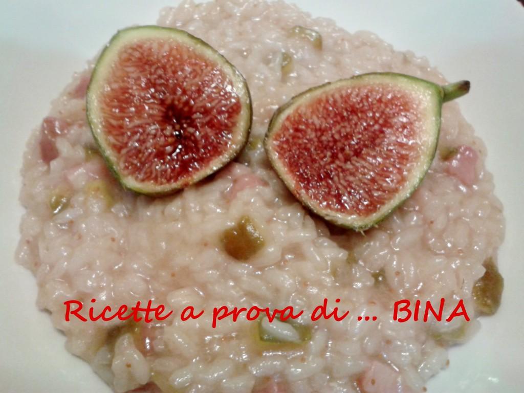 Risotto ai fichi e pancetta - Ricette a prova di Bina