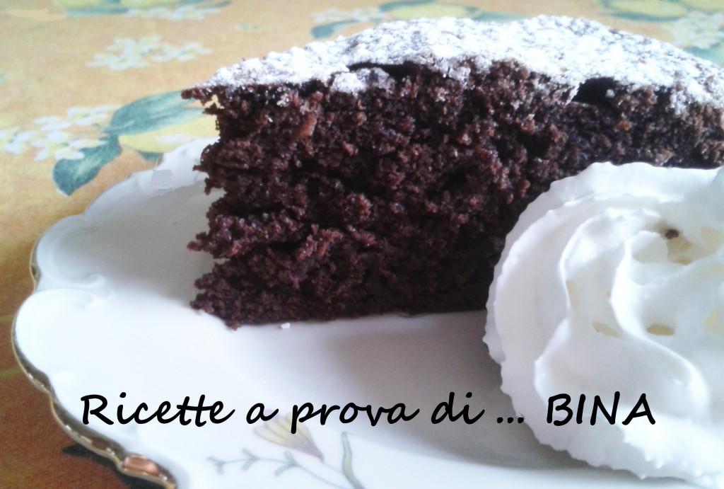 Torta morbida con cioccolato e ricotta - Ricette a prova di Bina