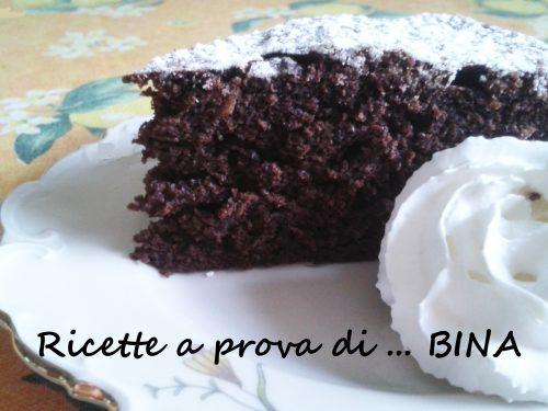 Torta morbida al cioccolato e ricotta