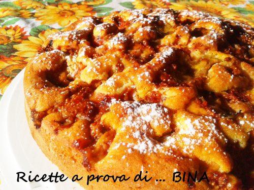 Torta soffice ai fichi – ricetta dolce semplice