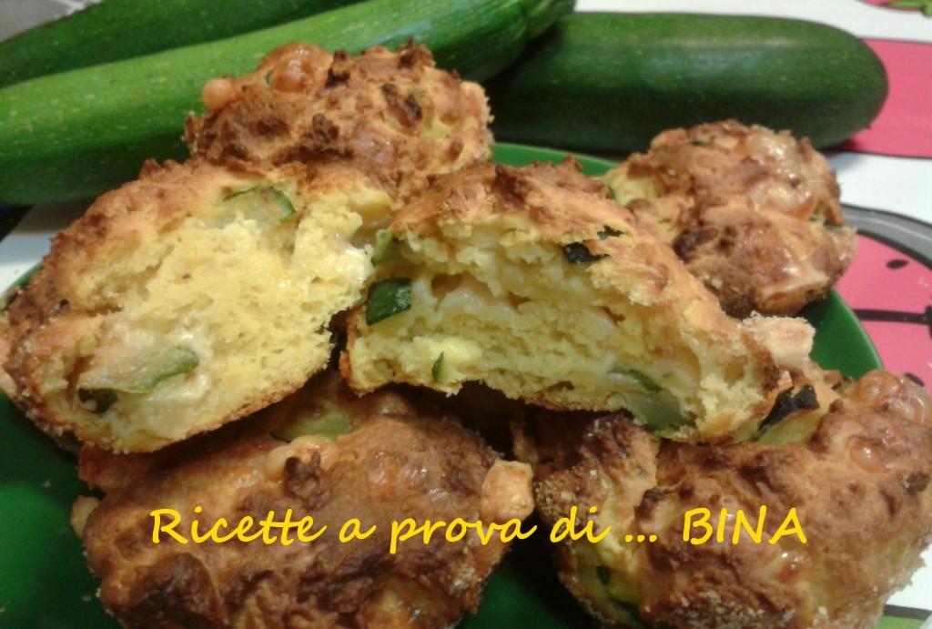 Tortini di ricotta zucchine e zafferano - Ricette a prova di Bina