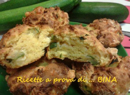 Tortini di ricotta zucchine e zafferano – ricetta veloce