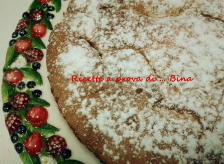 Torta alle prugne – ricetta torta morbida